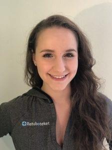 Lisa Hansel från Rehaboteket